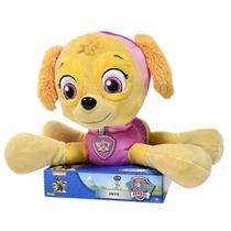 Pelúcia Da Skye De 10 Patrulha Canina - Sunny Brinquedos