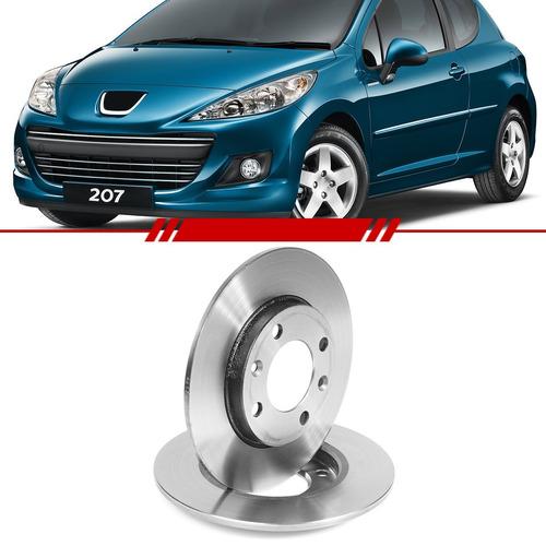 Par Disco Freio Traseiro Peugeot 206 306 207 106 2012 A 93