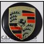 Emblema Adesivo Calota Miolo Tampa Roda Porsche 58mm - 1 Pç
