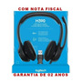 Logitech H390 Headset Usb Voip Micro Fone Volume Pc Notebook