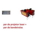 Laser Projetor Para Painel De Alinhamento + Par Bandeirolas