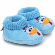 Pantufa Recém Nascido Galinha Pintadinha Ricsen Sapato Bebê