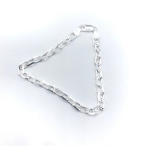 b86afd6df05 Pulseira Cartier Masculina 22cm Prata 925 - Peso 11