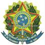 Bordado Termoc. Brasão Da Republica Do Brasil Patch Bra18