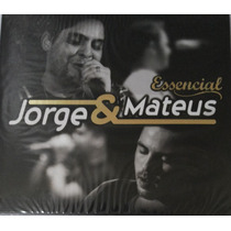 Cd Jorge E Mateus - Essencial / Digipack (978799)