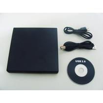 Drive Externo Slim Usb Gravador Leitor Cd E Dvd Novo Caixa