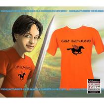 Camiseta Acampamento Meio Sangue - Percy Jackson