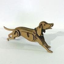 Quebra Cabeça 3d - Coleção Animais - Cachorro Mdf