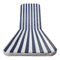 Almofada Espreguiçadeira 4cm Azul