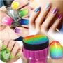 Super Fácil De Usar Kit Profissional Manicure Unha Degradê!!