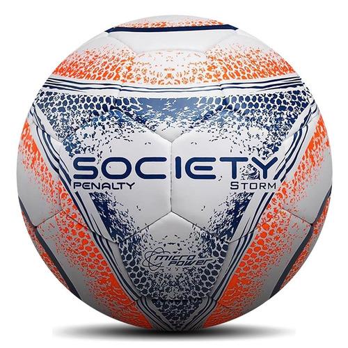 1449ec0c69 Bola Society Penalty Storm Costurada 2018. Preço  R  66 9 Veja MercadoLibre