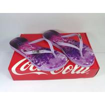 Sandália Coca-cola Feminino Urso Polar | Chinelo Coca Cola