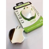 Kit 3 Peças Carregador Fonte Apple 2 Entrada 2a Freta Gratis