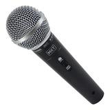 Microfone Mxt M-58 Dinâmico Cardióide Preto