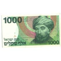 369-cédula 1000 Sheqalin - Israel.