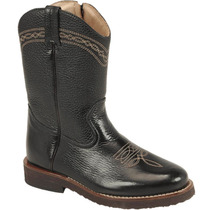 Bota Country Infantil Texana Silverado Floater Preto
