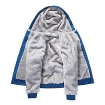 Blusa Jaqueta De Frio Masculina Com Capuz E Forro De Pelo à venda em ... 7008bbc420b