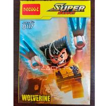 Wolverine Logan Marvel Xmen Decool Compatível Com Lego