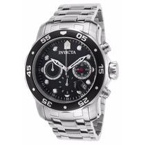 Relógio Invicta Pro Diver 0069 Prateado - Preto Masculino