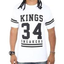 Camisa Kings 34 Sneakers Hip Hop - Rap Pronta Entrega
