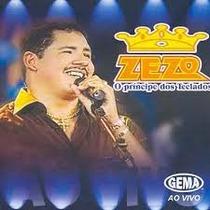 Zezo - O Príncipe Dos Teclados Ao Vivo (cd Novo E Lacrado)