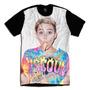 Camiseta Personalizada Swag Face Rosto Miley Cyrus