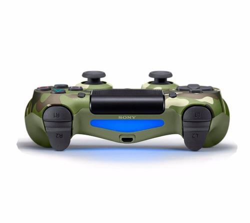 Controle Ps4 Camuflado Verde (modelo Novo Cuh-zct2)