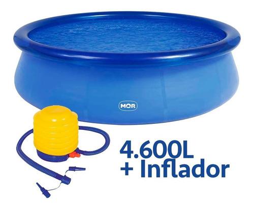 Piscina Redonda 4.600 Litros Inflavel Splash Fun + Inflador