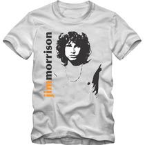 Jim Morrisone Camiseta Tradicional T-shirt Algodão