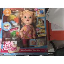 Baby Live Hora De Comer B0632 Hasbro Original