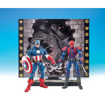 Marvel Legends - Captain America Vs Red Skull - Face Off