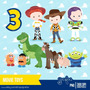2 Kits Digitais Toy Story Filme Clipart Scrapbook Imagens