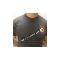 Camisa Preta CFSD - Bordada