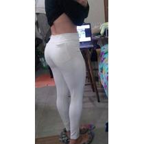 Calça Leg Legging Montaria Branca