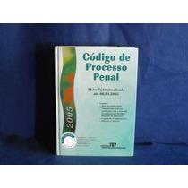 Livro Código De Processo Penal Usado 10ª Edição De 2005