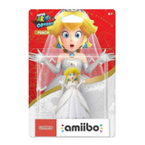 Amiibo Peach Wedding Super Mario Odyssey Novo Lacrado