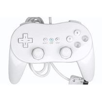 Controle Classic Pro Joystick Wii Branco - Mercado Livre