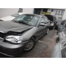 Sucata Honda Civic Lx 1.7 Mec 01 Air Bag Motor Cambio Rodas