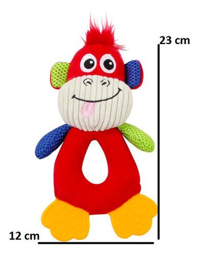 Brinquedo Pelúcia C/ Apito Para Shih-tzu - Macaco Pawise