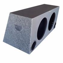 Caixa De Som Super Bass 2x12 Dutada 100litros Mdf 15mm Mtx