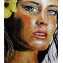 Pintura De Rosto Personalizado Tinta A Óleo Ou Acrílica