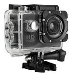 Câmera Filmadora Ação Capacete Esporte Mergulho Acessórios