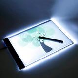 Mesa De Luz Led P/ Desenho E Transposição A4 Profissional