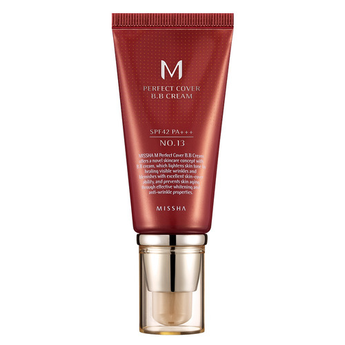 M Perfect Cover Bb Cream 50ml Missha - 13 Milk Beige