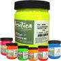Tinta Acrílica Fluorescente Corfix - 250ml