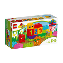 Brinquedo De Montar Lego Duplo Meu Primeiro Caterpilar 10831
