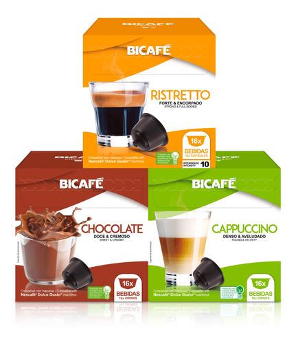48 Cápsulas Para Dolce Gusto Café & Bebida - Cápsula Bicafé