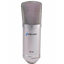 Microfone Arcano Para Estúdio St-01 Igual B1