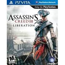 Assassins Creed Ill Liberation Ps Vita Psvita Novo Lacrado