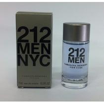 Miniatura Carolina Herrera 212 Men Edt 7ml   100% Original